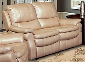 Parker Living Juno Loveseat Dual Power Recliner In Sand