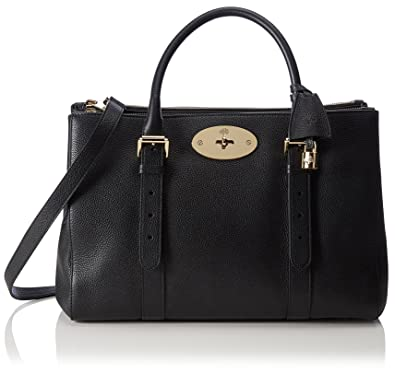 f9ec6cdc00 Mulberry sac à main satchel Bayswater Noir: Amazon.fr: Chaussures et ...