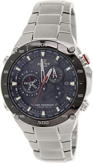 44ddc216be1a Buy Casio Edifice Black Dial Men s Watch - EQS-1100DB-1AVDR (EX041) Online  at Low Prices in India - Amazon.in