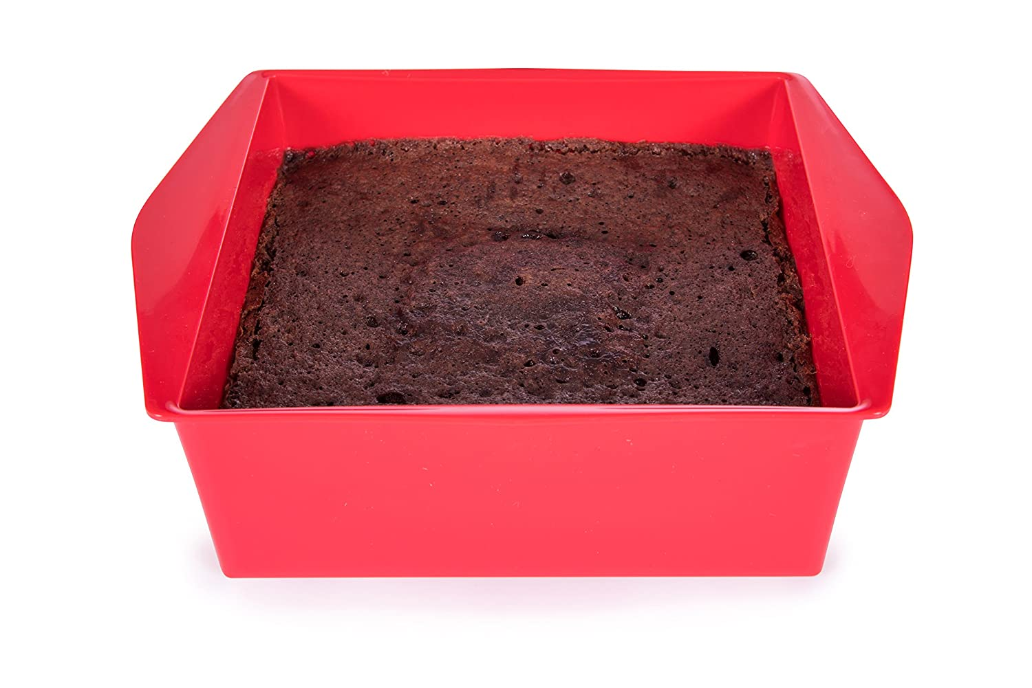 Microwave Desert Brownie Cake Baker (Betty Crocker Red)