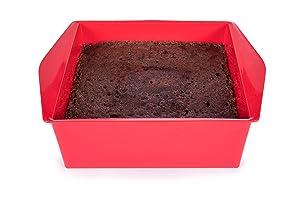 Microwave Desert Brownie Cake Baker (Betty Crocker Red)