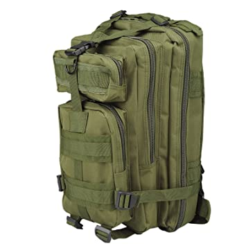 30L Mochila de Marcha Deportivo Exterior Militar Impermeable Molle con Muchos bolsillos para Acampada Camping Senderismo Deporte Backpack de Asalto Patrulla ...