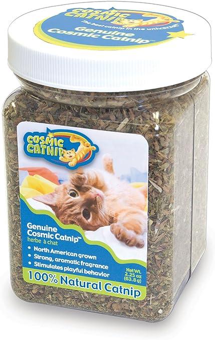 Amazon Com Cosmic Catnip Jar Catnip Treats Pet Supplies
