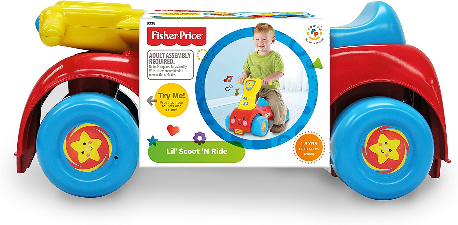 Amazon.com: Little People Lil Scoot n Ride-On: Toys & Games