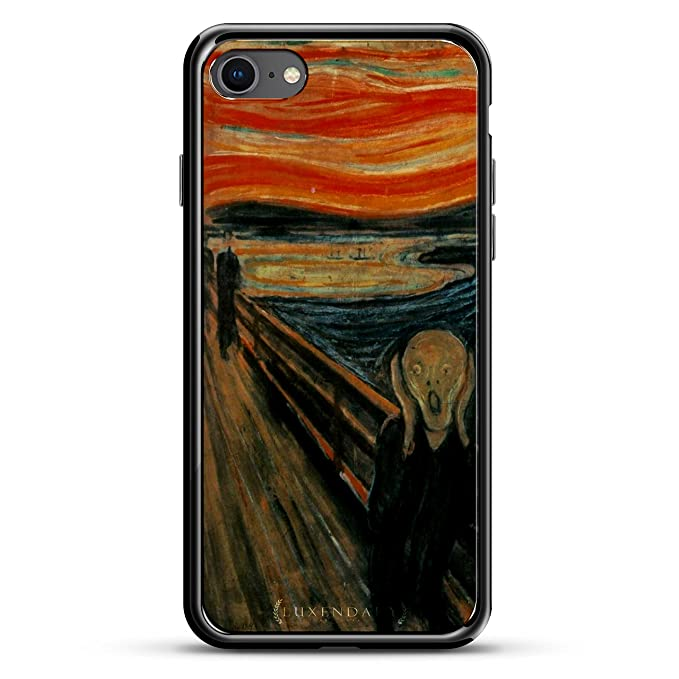 THE SCREAM PUBLIC DOMAIN PICTURE | Luxendary Chrome Series designer case for iPhone 8/7