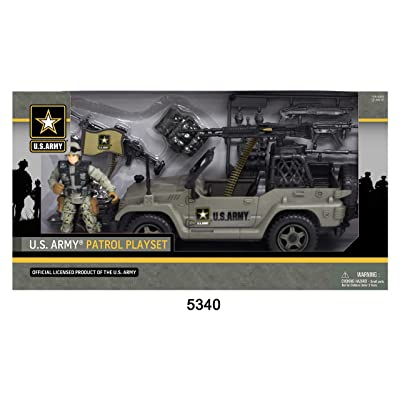 United States Army Patrol Playset: Toys & Games
