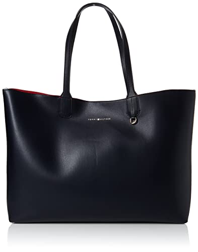 2e4c84f26 Tommy Hilfiger Iconic Tote Cb, Women's Shoulder Bag, Blue (Corporate Mix),