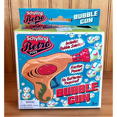 Schylling RBG Retro Bubble Gun: Toys & Games [5Bkhe1802588]