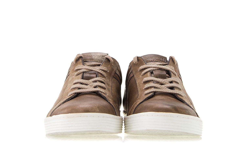 Bikkembergs Scarpe Uomo Words 892 Low Shoe Leather sneakers