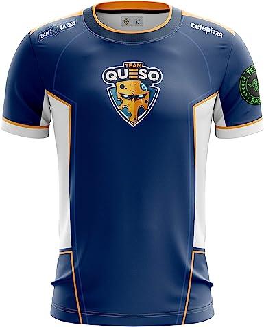 Team Queso Oficial 2019, Camiseta para Hombre: Amazon.es: Ropa y ...