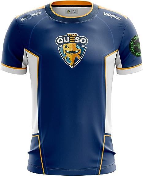Team Queso Oficial 2019, Camiseta para Hombre: Amazon.es: Ropa y accesorios