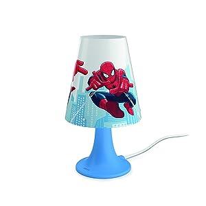 Philips Lámpara de Mesa portátil, Azul