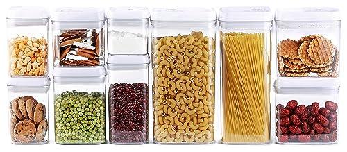 Juego de recipientes herméticos para almacenamiento de alimentos de 10 piezas Dragonn