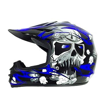 Viper Helmets – Casco de moto para niños RSX12 51-52 cm ...