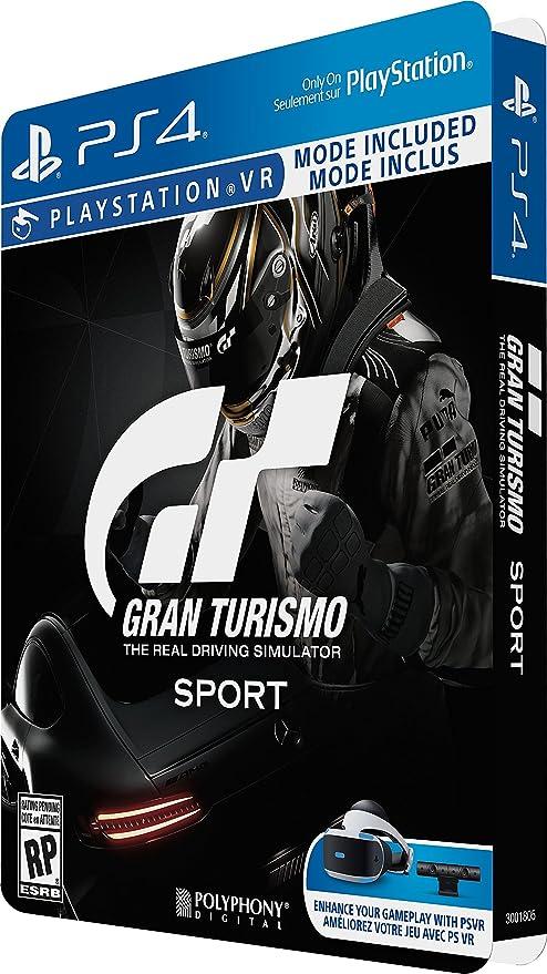 Gran Turismo Sport Limited Edition Steelbook