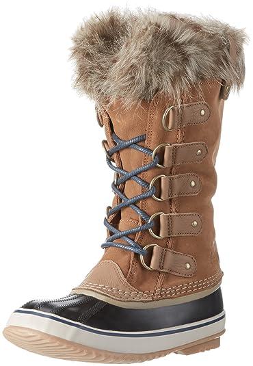 f73d771ce4a0 Sorel Women s Joan of Arctic Boots Elk   Dark Mountain 10.5 B(M) US ...