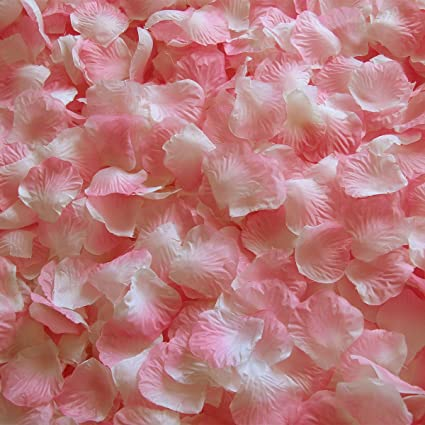 Amazon.com: JUYO VONSAN 1000pcs Rose Petals Wedding Flowers Petals ...