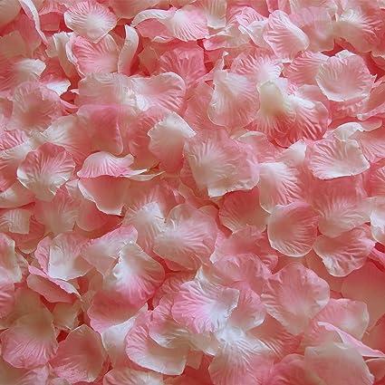 Amazon.com: JUYO VONSAN 1000pcs Rose Petals Wedding Flowers Petals ...