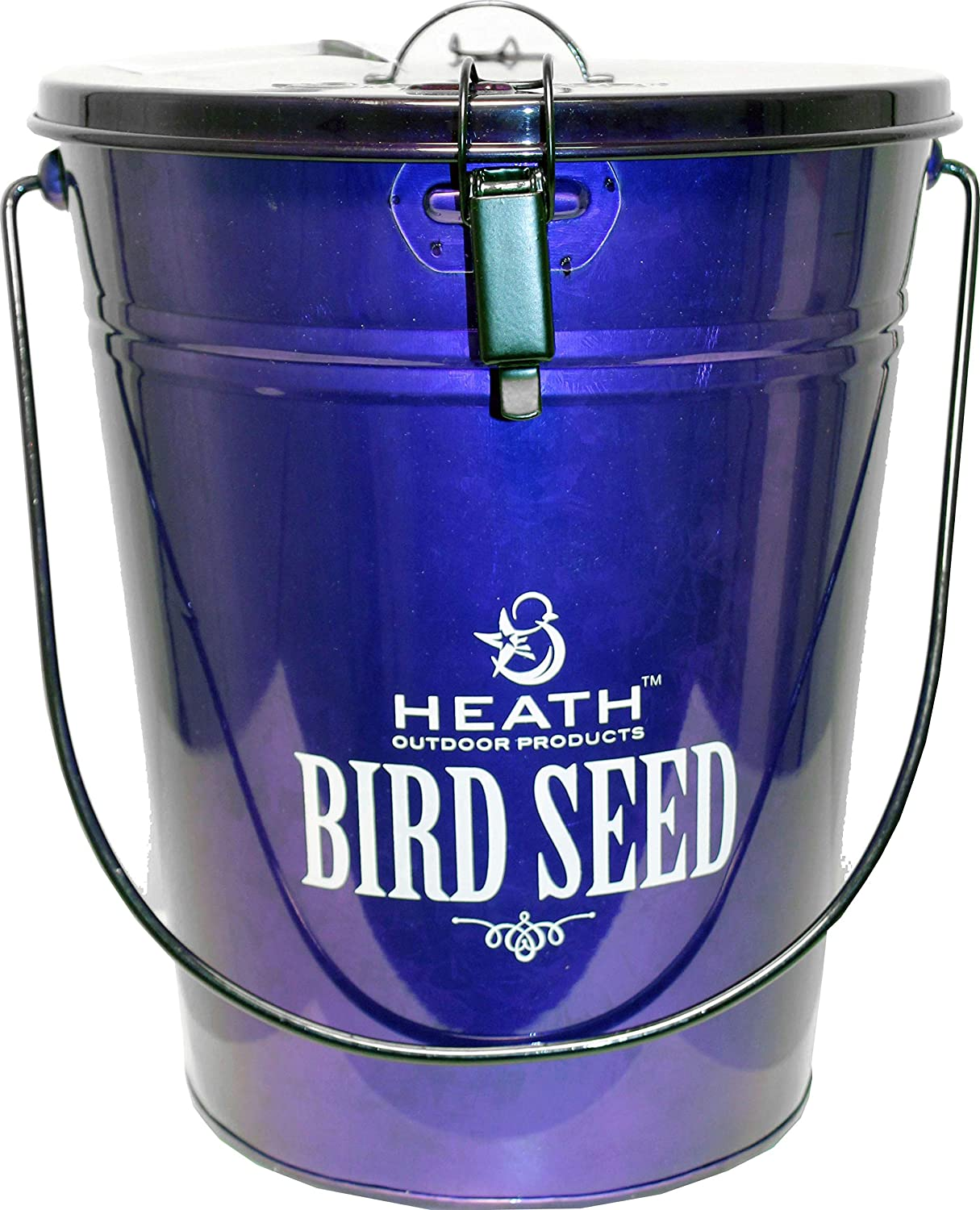 Heath 21702 Bird Seed Storage Container, Purple