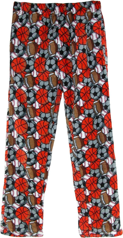 Boyz Club Boys Coral Fleece Lounge Pajama Pants