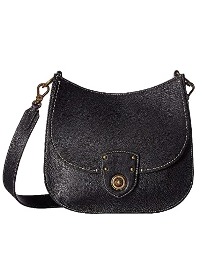 Lauren Ralph Lauren Millbrook Small Convertible Crossbody (Black ... c4d900efa2658