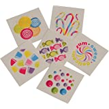 Lot Of 144 Assorted Candy Theme Temporary Tattoos