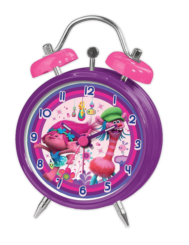 Joy Toy Trolls Alarm Clock, Multi-Colour, 9 x 4.5 x 13 cm Joy Toy AG 67680