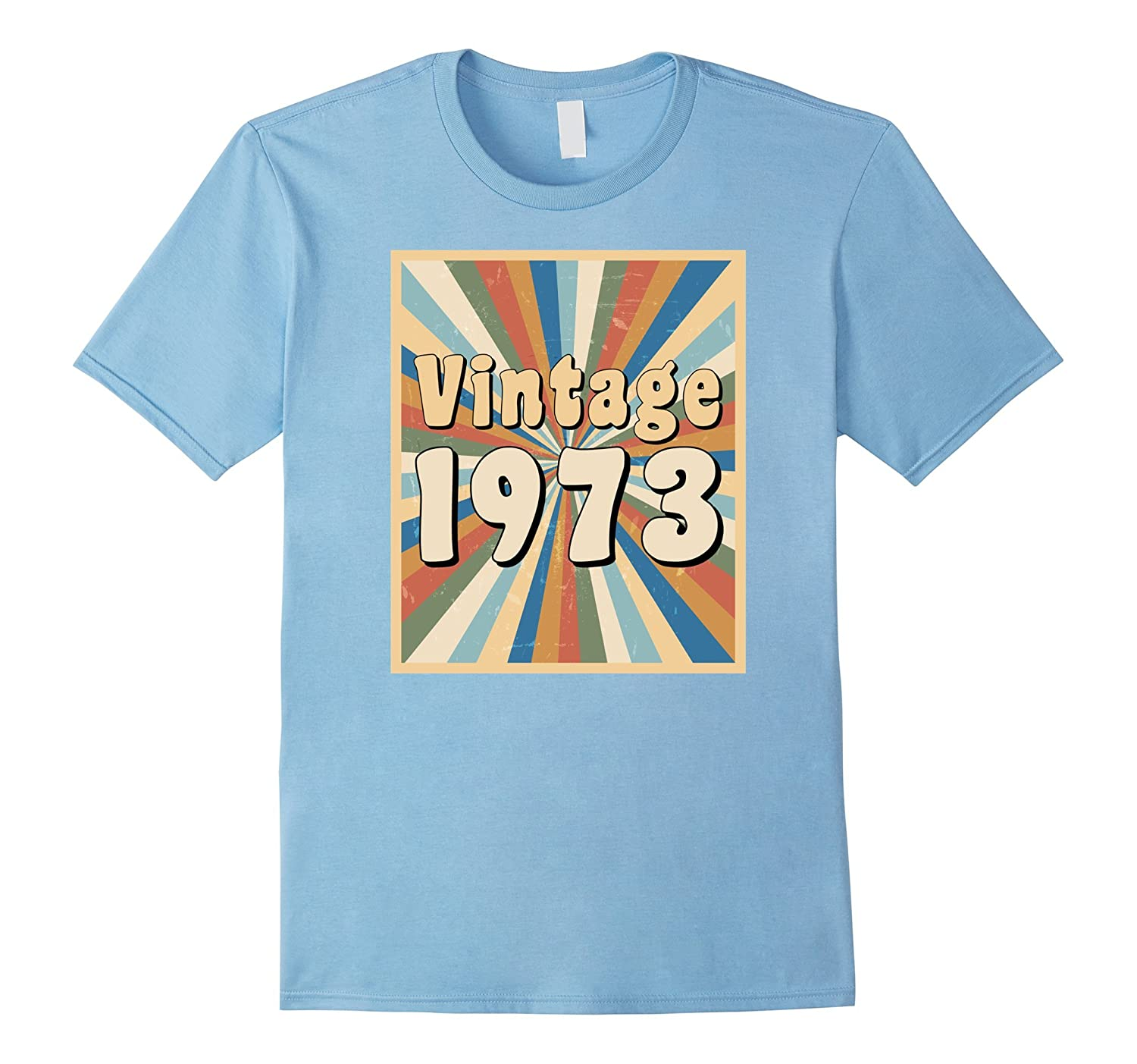 Vintage 1973 t-shirt with retro 1970s look-FL