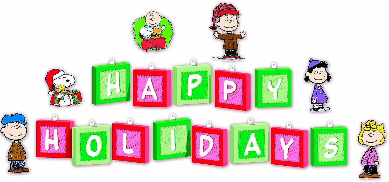 Eureka Peanuts Christmas Mini Bulletin Board Sets