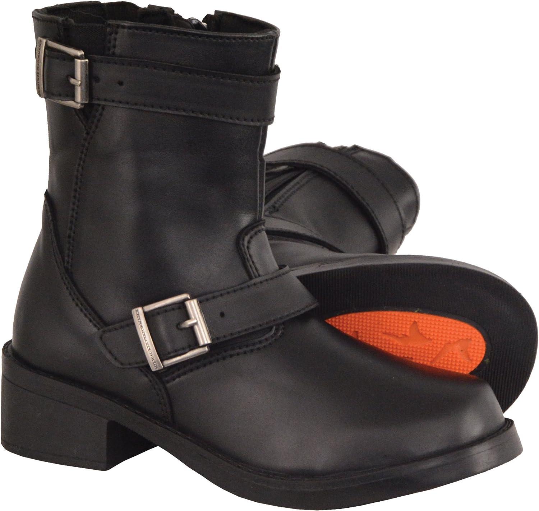 Milwaukee Leather Boys Boots Black 4
