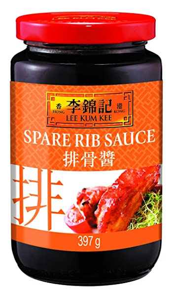 Lee Kum Kee Salsa Para Costillas - 4 Paquetes de 397 gr - Total: 1588