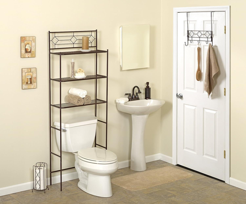 Amazon.com: Zenna Home BBHB75, 3-Piece Bath in a Box, Spacesaver ...