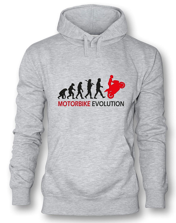 Angry Shirts Motorbike Evolution - Herren Hoodie