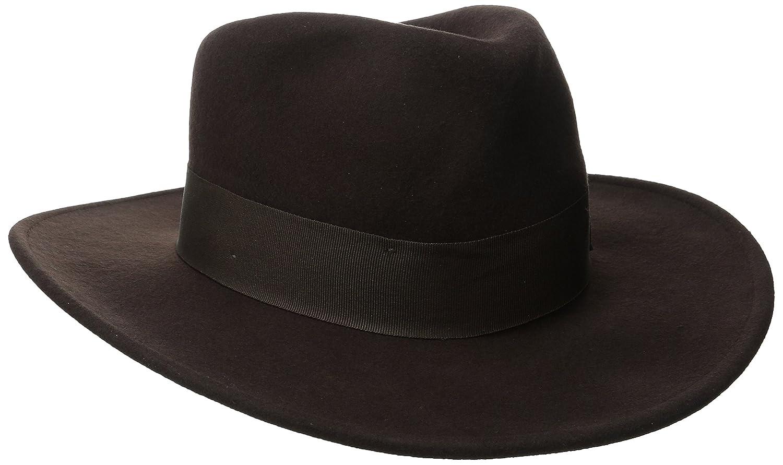 Indiana Jones Men's Crushable Wool Felt Fedora IJ559
