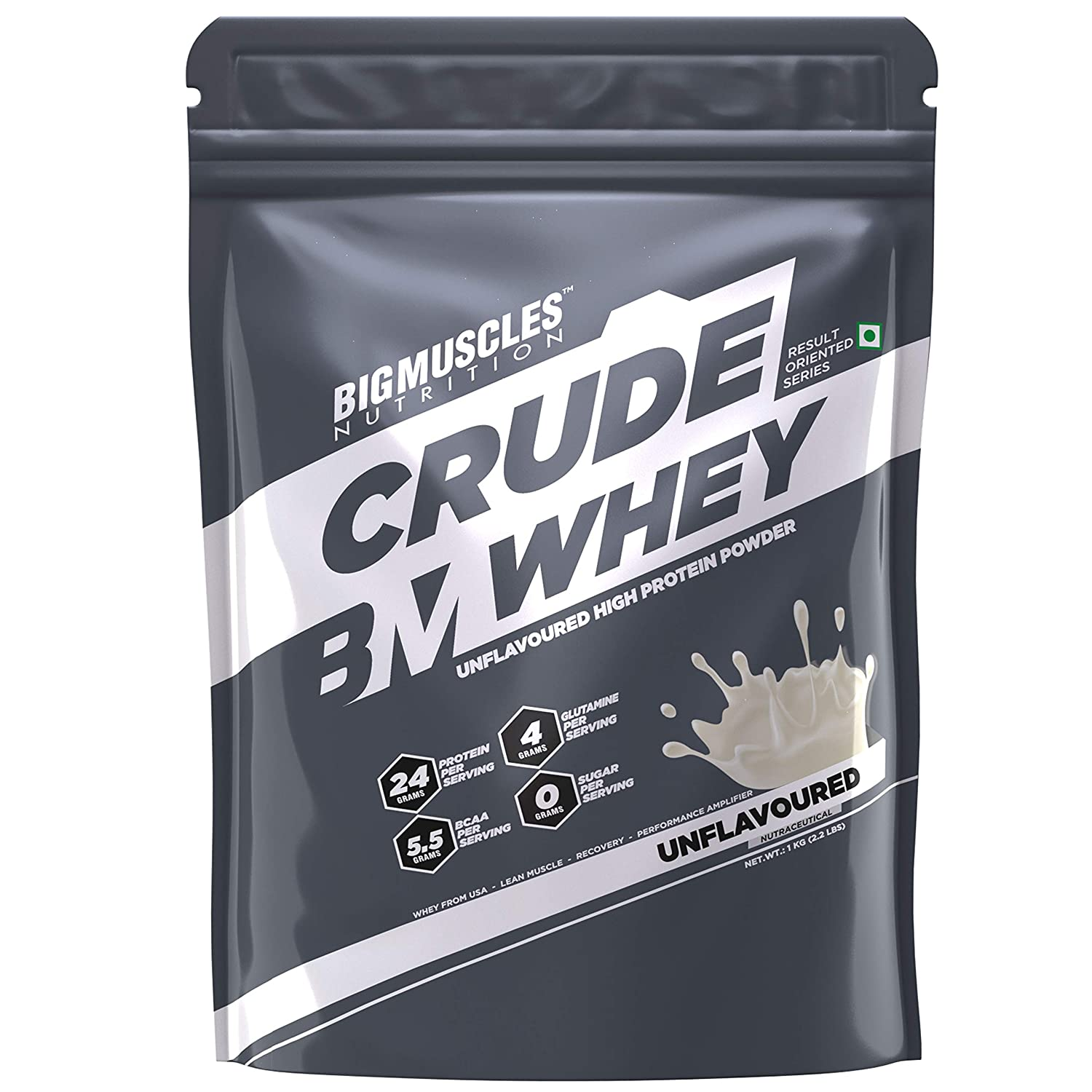 Bigmuscles Nutrition 24g Protein, 5.5g BCAA, 4 g Glutamine Crude Whey $11.58 Coupon