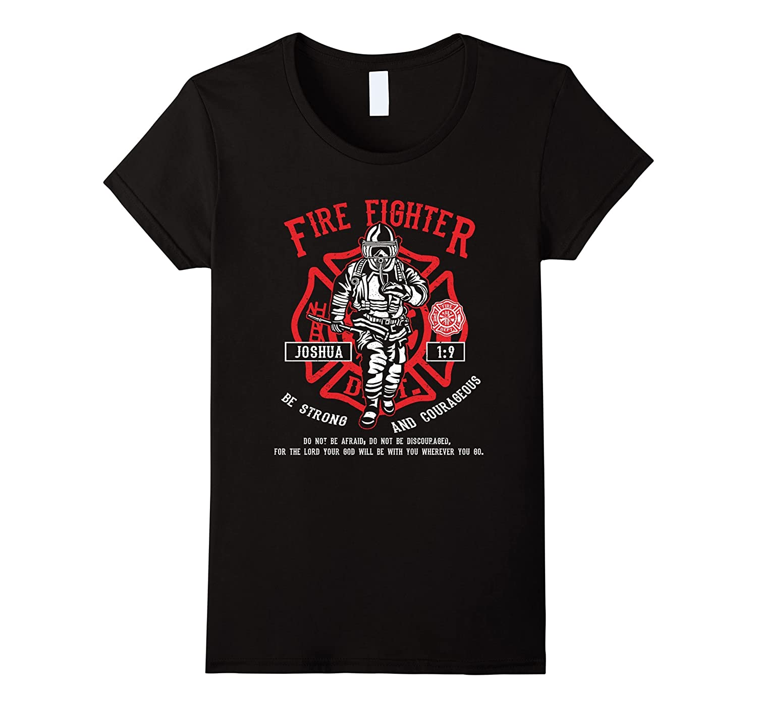 Bible Verse Christian Fire Fighter Shirt