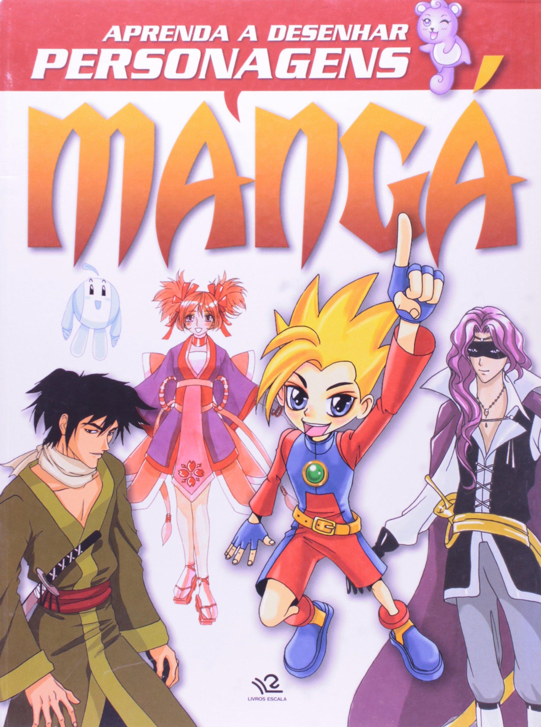 Aprenda A Desenhar Personagens Manga 9788538900344 Livros Na