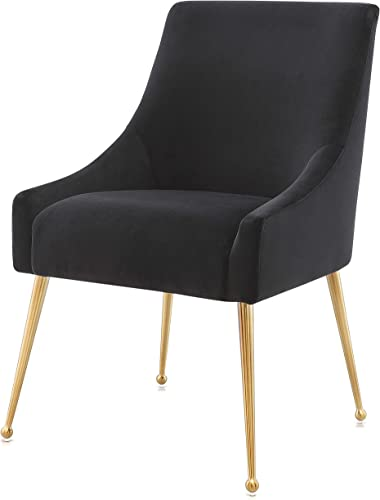 MEELANO Dining Chair, Black