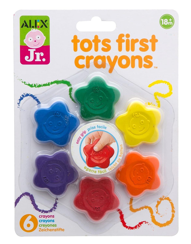 ALEX Jr. Tots First Crayons ALEX Toys 1848S