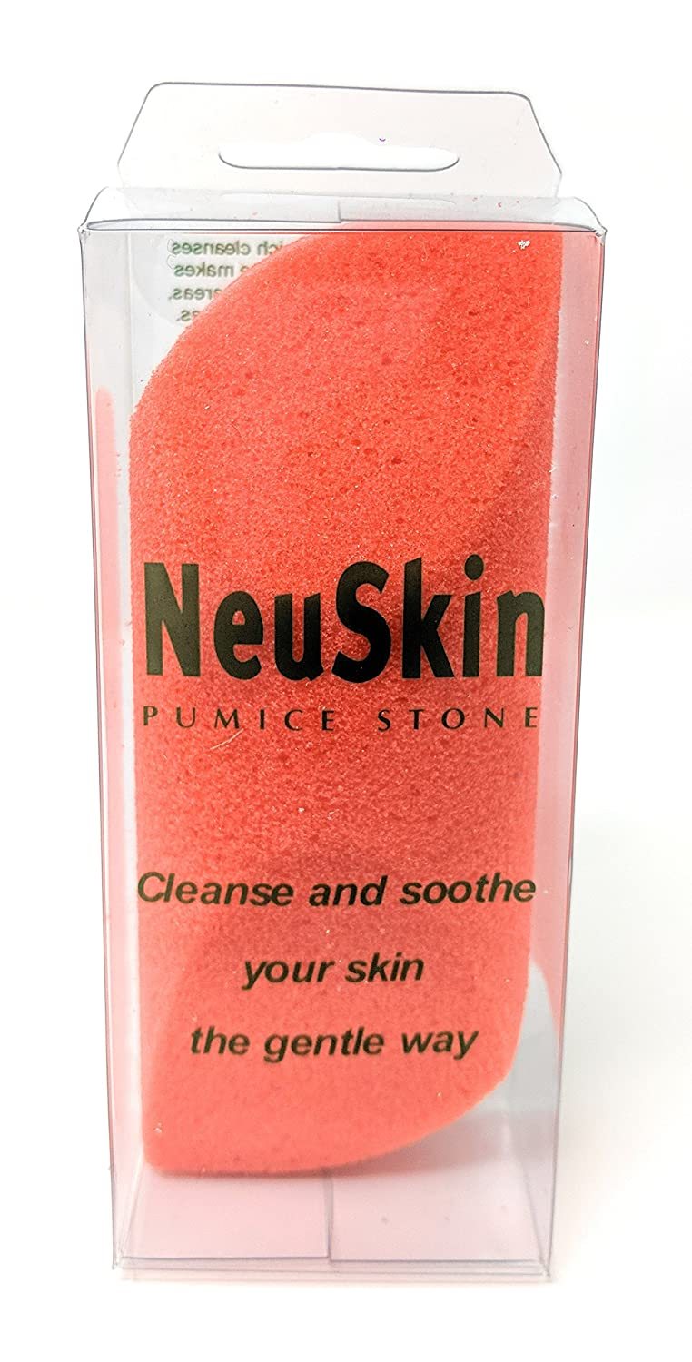 NeuSkin Foot Pumice Stone - Cleanse and soothe your skin the gentle way (Purple)