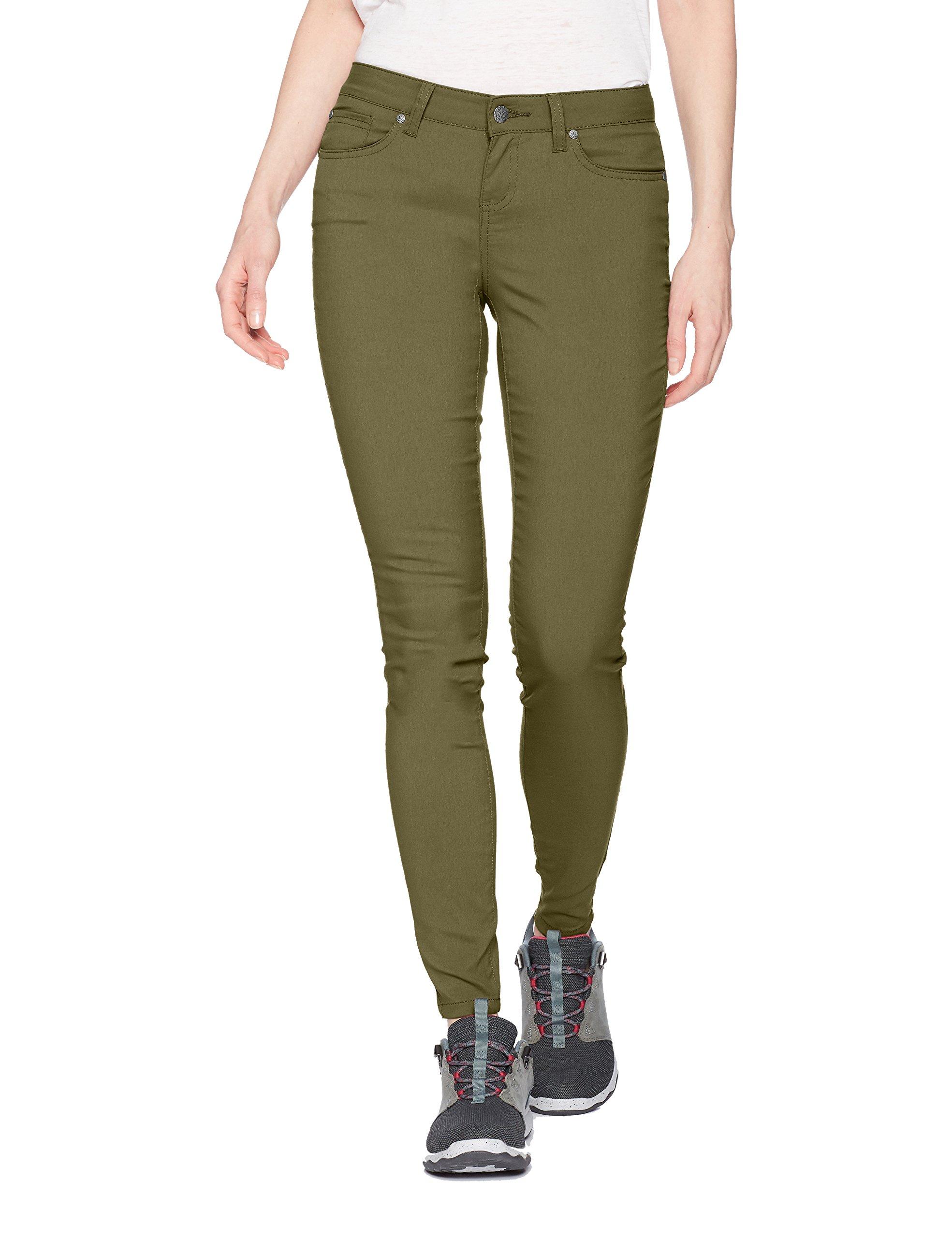 prAna Women's Petite Briann Pant, Cargo Green, 12 Short Inseam by prAna