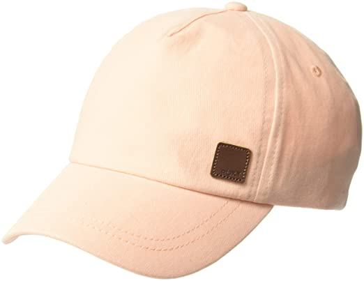b7d295b318b4eb Roxy Women's Extra Innings Baseball Cap, Cloud Pink, One Size ...