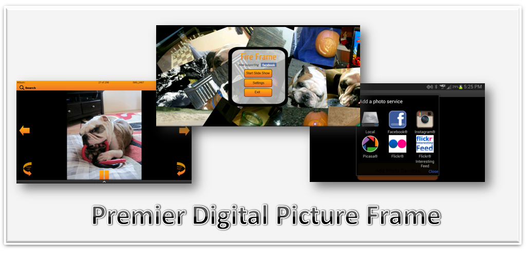 amazoncom fireframe digital picture frame appstore