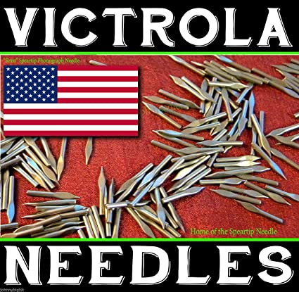 300 LOUD Tone VICTROLA NEEDLES Gramophone Phonograph for Vintage Records