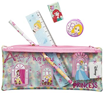 Estuche escolar relleno de PVC de Disney Princess, para ...