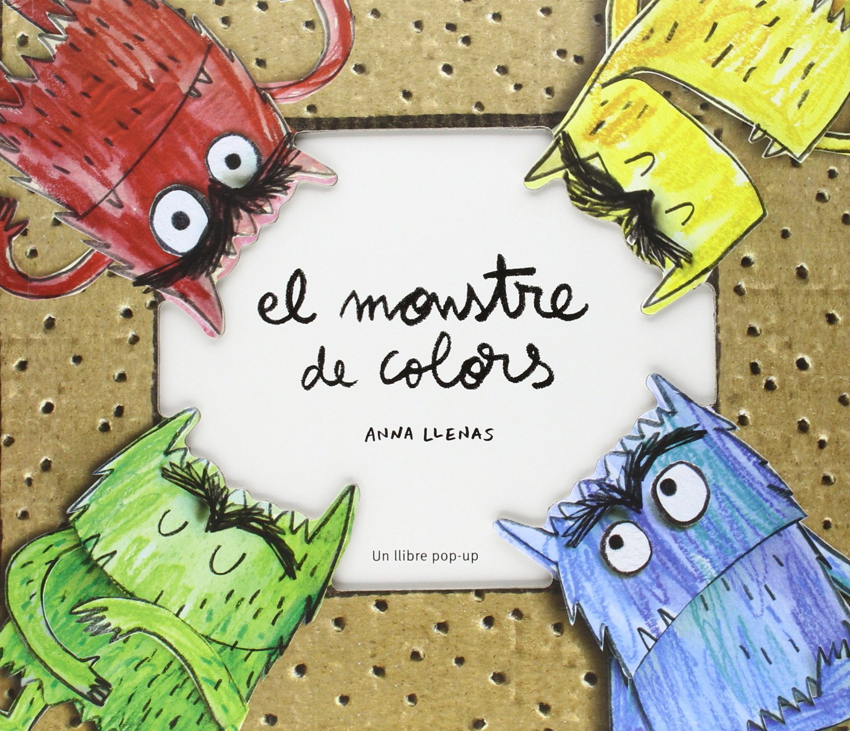 El monstre de colors pop-up [Catalán]: Amazon.es: Anna Llenas Serra: Libros