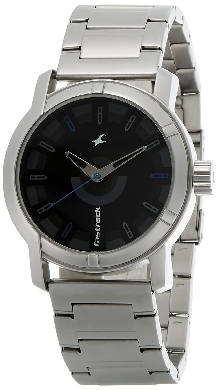 19455bc2f0 Buy Fastrack SM Upgrades Analog Black Dial Men's Watch -NK3021SM01 Online at  Low Prices in India - Amazon.in