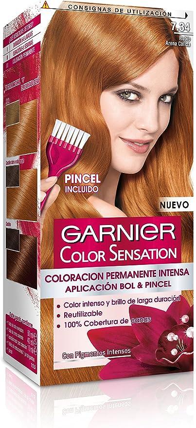 Garnier - Coloración Color Sensation, 7.34 Cobrizo Claro ...