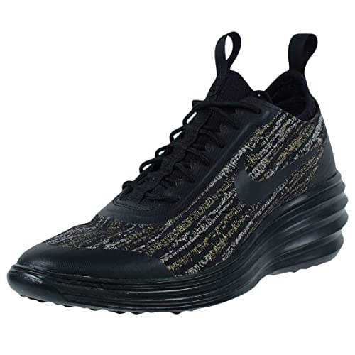 brand new 483df 739c4 Nike Womens LUNARELITE Sky HI JCRD SNEAKERHEELS Black Metallic Gold 654169  002  Amazon.ca  Shoes   Handbags