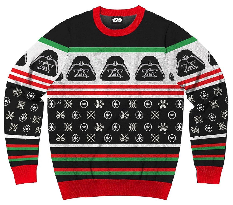 Men's Disney Star Wars Darth Vader Ugly Sweater Christmas Sweatshirt Mad Engine